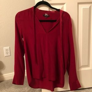 MADEWELL red blouse